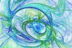 Caos caotico di colore - progettazione astratta royalty illustrazione gratis
