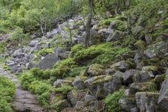Caos da rocha Fotos de Stock Royalty Free