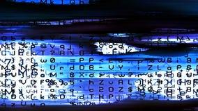 Caos 0259 de los datos de Digitaces Imagenes de archivo