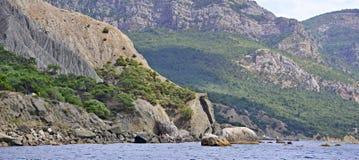 Caos de pedra, montanha da paisagem, grande fundo imagem de stock