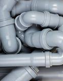 Caos dei tubi per fognatura Fotografia Stock Libera da Diritti