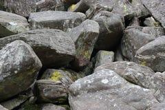 Caos della roccia Fotografie Stock