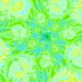 Caos di verde di calce Immagini Stock