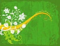 Caos floral abstrato Fotos de Stock