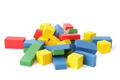 Caos multicolore Fotografia Stock