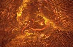 Caos no inferno Imagens de Stock Royalty Free