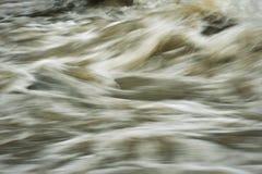 Caos sulla superficie dell'acqua Immagini Stock Libere da Diritti