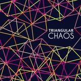 Caos triangolare Fotografia Stock