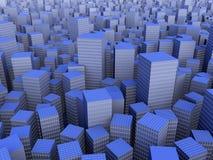 Caos urbano Imagem de Stock Royalty Free
