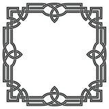 Capítulo con el ornamento céltico stock de ilustración