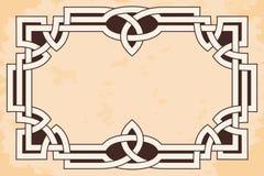 Capítulo con el ornamento céltico libre illustration