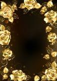 Capítulo con las rosas del oro libre illustration