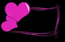 Capítulo con los corazones Imagen de archivo