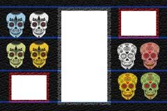 Capítulo con los cráneos Fotos de archivo libres de regalías