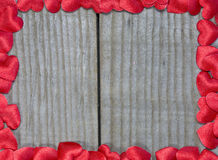 Capítulo de corazones rojos Imagen de archivo libre de regalías