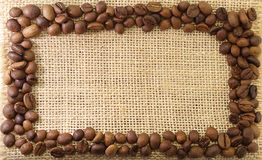 Capítulo de granos de café Fotografía de archivo