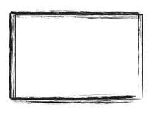 Capítulo de Grunge para el texto o los cuadros Foto de archivo libre de regalías