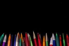 Capítulo de las manijas multicoloras Imágenes de archivo libres de regalías