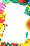 Capítulo de los juguetes aislados en el fondo blanco fotos de archivo libres de regalías