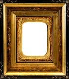 Capítulo de madera del vintage con el parte movible adornado Imagen de archivo