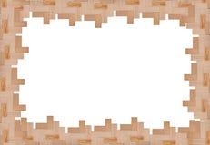 Capítulo de pedazos de madera Imagenes de archivo