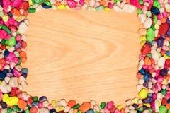 Capítulo de piedras decorativas Fotos de archivo
