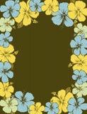 Capítulo del hibisco, vector stock de ilustración