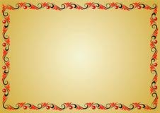 Capítulo del ornamento de la hierba Foto de archivo libre de regalías