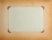 Capítulo en álbum de la vendimia Fotos de archivo libres de regalías