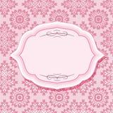 Capítulo en modelos en rosa en colores pastel Imagenes de archivo