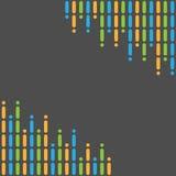 Capítulo hecho de tiras coloreadas Imágenes de archivo libres de regalías
