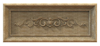 Capítulo hecho del granito Imagen de archivo libre de regalías