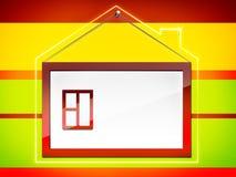 Capítulo la casa del â stock de ilustración