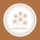 Capítulo para la tarjeta de felicitación Fotografía de archivo libre de regalías