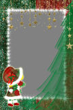 Capítulo para una foto por Año Nuevo. Fotografía de archivo libre de regalías