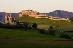 Capítulo Spisska y castillo de Spissky, Eslovaquia imágenes de archivo libres de regalías