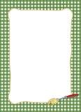 capítulo verde Pasta-temático Imagen de archivo libre de regalías