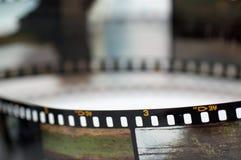 Capítulos de la película de la diapositiva Fotos de archivo