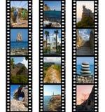 Capítulos de la película, de la naturaleza y del recorrido Fotografía de archivo