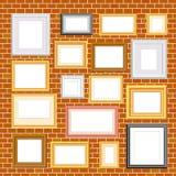 Capítulos en brickwall Fotos de archivo libres de regalías