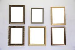 Capítulos en la pared Imágenes de archivo libres de regalías