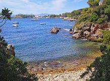 Cap Antibes de baie Image stock