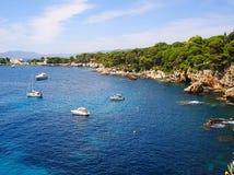 Cap Antibes de vue Photo libre de droits