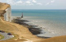 Cap Bévésiers, le Sussex, Angleterre photo libre de droits