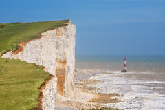 Cap Bévésiers. Le Sussex est, Angleterre, R-U image libre de droits