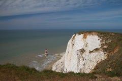 Cap Bévésiers, le Sussex, R-U Images libres de droits