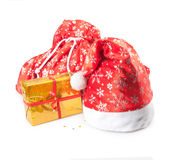 Cap, bag and box Royalty Free Stock Photo