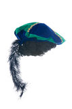 The cap of black Pete- a dutch tradition stock image