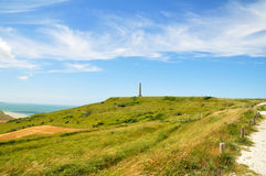 Cap Blanc Nez in France Stock Photography