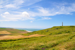 Cap Blanc Nez in France Stock Image